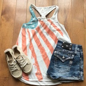 Roper USA American Flag medium tank